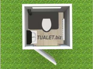 Компактный сетевой туалет