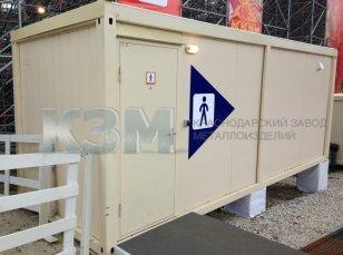Недорогие модульные туалеты