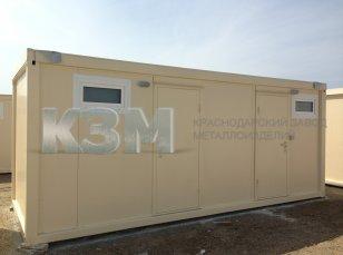 Туалетные и душевые модули