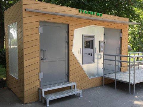 Модуль туалета автономного