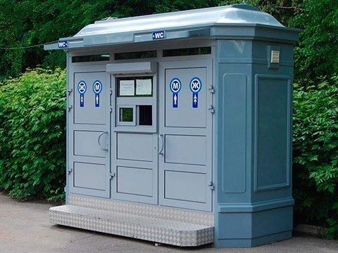 Модули туалетные