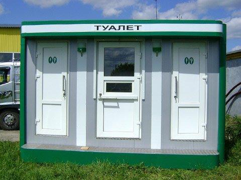 Модульные теплые туалеты