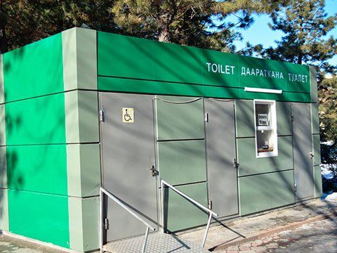 Модульные туалеты купить
