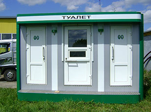 Туалетные модули для стройплощадок