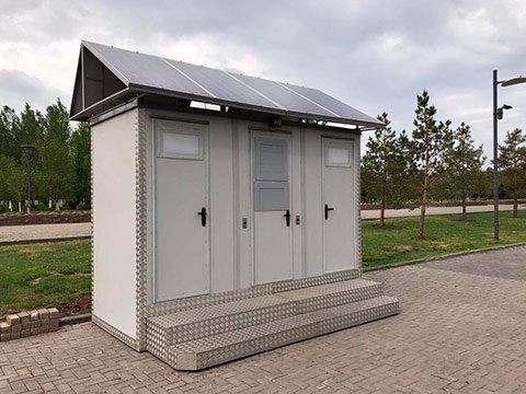 Производитель модульных туалетов