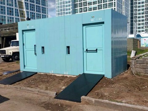 Производители модульных туалетов