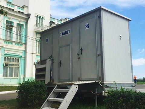 Сетевые туалеты в Москве