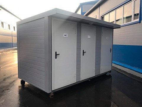 Туалет модульного типа автономный