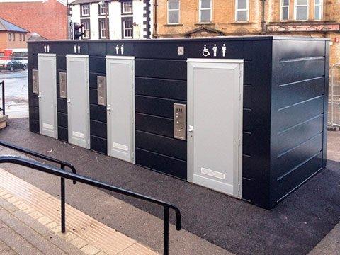Туалетные модули недорого