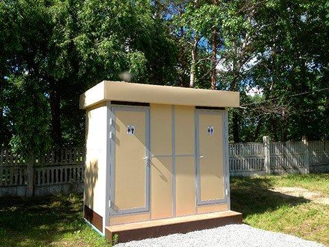 Туалетные модули сетевые